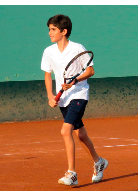 Siete canchas independientes de Tenis